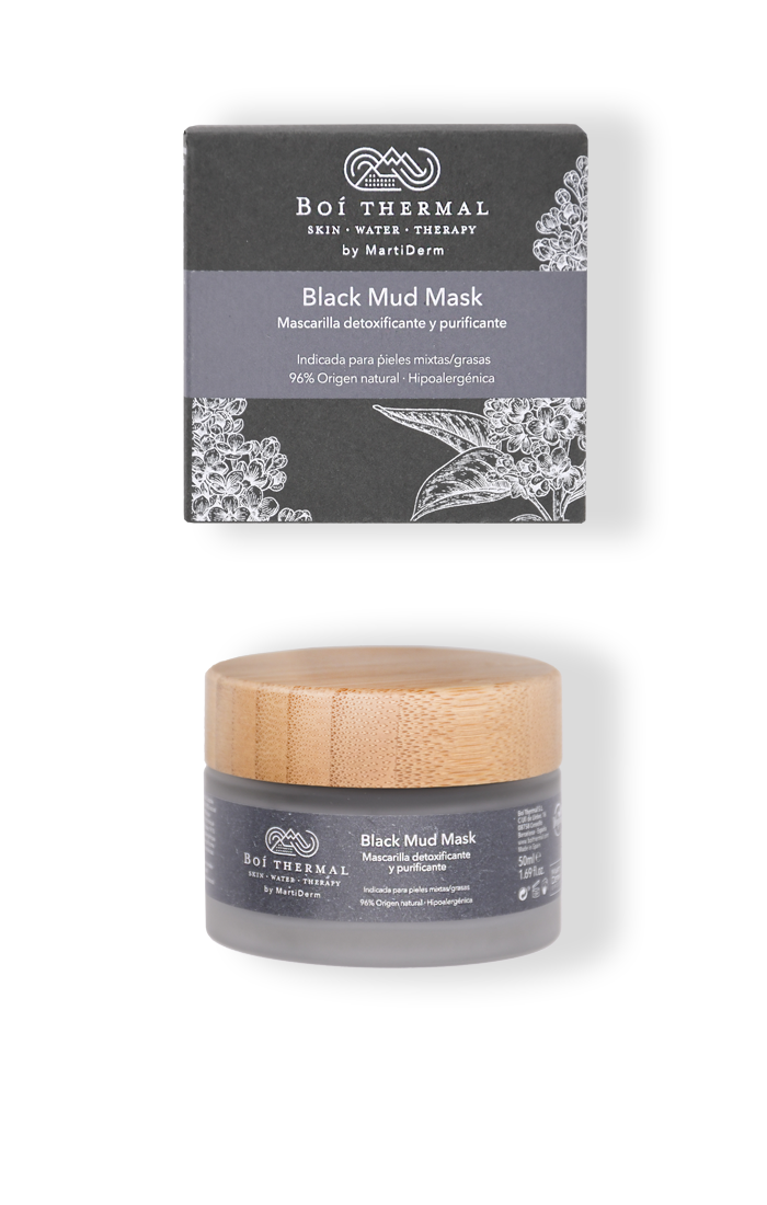 MUD MASK BLACK